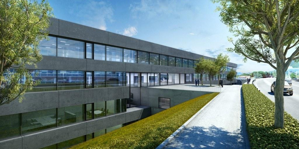 Brandschutz von Ferrotekt für Hilti Innovationszentrum Schaan