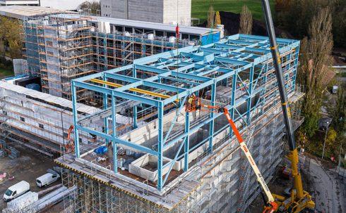 Neubau Heizkraftwerk, Aarberg